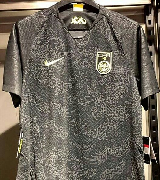 China soccer jersey