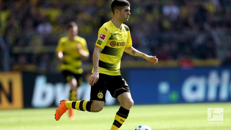 Christian Pulisic Borussia Dortmund assist