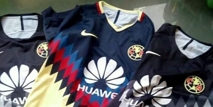 Club america 2017 18 jerseys for Cuarto kit del america