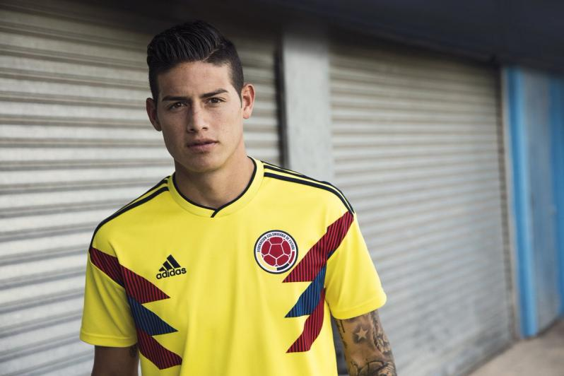 243501e28e5 Colombia 2018 World Cup Jersey