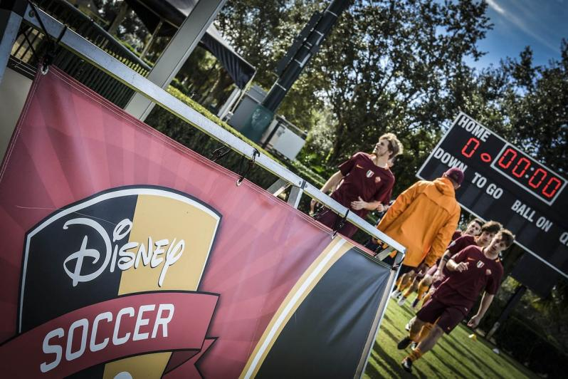 AS Roma at Disney Soccer Showcase