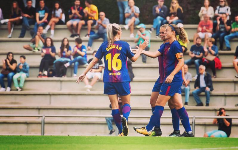 FC Barcelona women's team: Toni Duggan