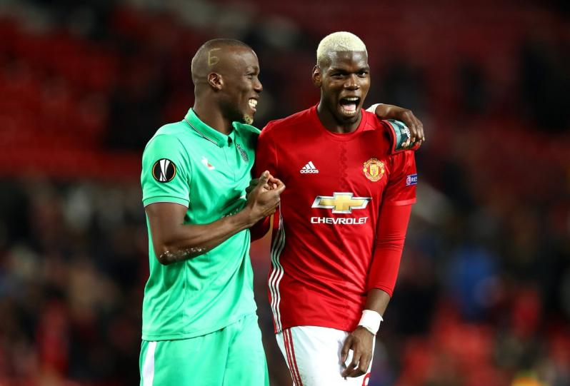 Florentin Pogba fights with teammates