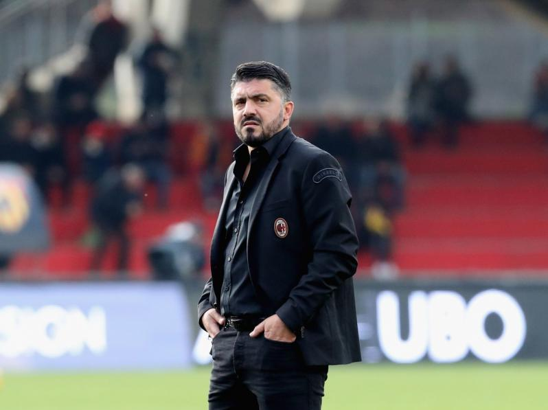 Gennaro Gattuso reaction