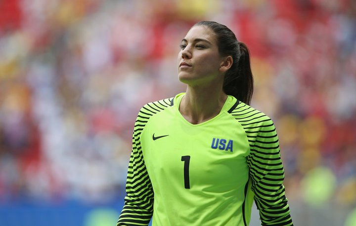 Hope Solo Sepp Blatter Sexual Assault