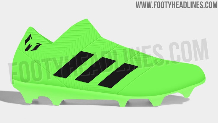 000858fbbe4 Lionel Messi World Cup Cleats  Adidas Nemeziz 18 Photos