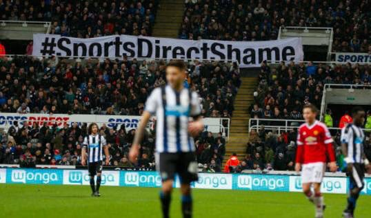 Newcastle United put up for sale