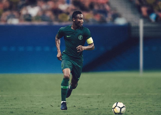 Nigeria World Cup Jersey