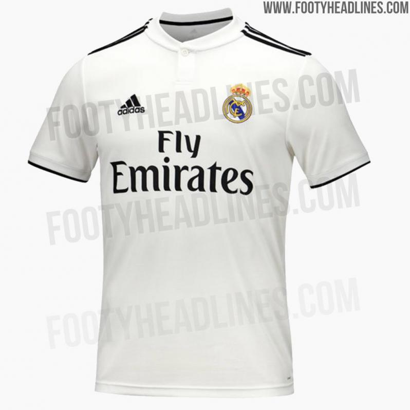 more photos 40047 4f60e Barcelona And Real Madrid 2018-19 Home Jerseys Revealed
