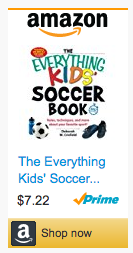 Last Minute Soccer Gifts Amazon Prime - The Everything Kids' Soccer Book: Rules, Techniques and More