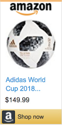 Best Soccer Gifts For Players- Adidas Telstar 2018 Official World Cup Match Ball
