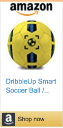 Best Soccer Gifts For Players- DribbleUp App Connected Soccer Ball