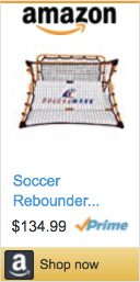 Best Soccer Gifts For Players- Soccerwave Rebounder Net