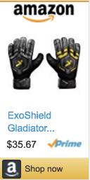 Best Soccer Gifts For Players- Storelli Exoshield Gladiator Challenger Goalkeeper Gloves