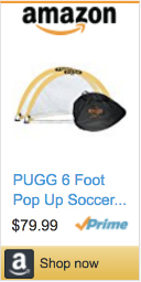 Best Soccer Gifts For Players- PUGG 6 Foot Portable Goals