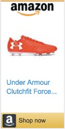 Best Soccer Gifts For Players - Under Armour Clutchfit Force 3.0 Cleats