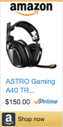 Best Gifts For Gamers - ASTRO Gaming Headset