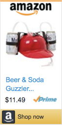 Best Gifts For Gamers - EZ Drinker Hat