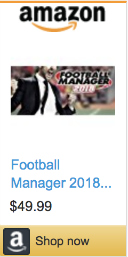 Best Gifts For Gamers - Football Manager 2018