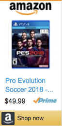 Best Soccer Gifts For Players - Pro Evolution Soccer 2018