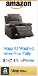 Best Gifts For Gamers - Major Q Recliner Chair
