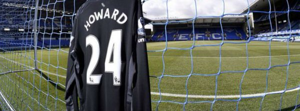 Tim Howard's Everton jersey
