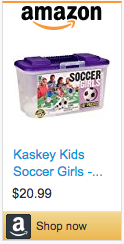Best Soccer Gifts For Kids - Kaskey Kids Soccer Girls