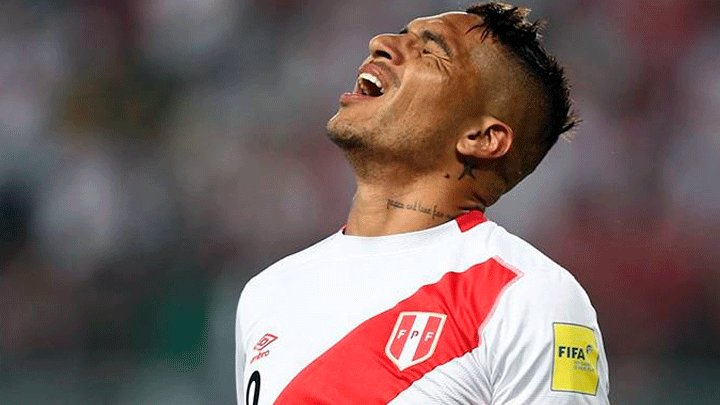 Federation Internationale de Football Association bans Peru captain Guerrero for 1 year in doping case