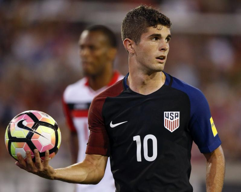 Christian Pulisic named USMNT Player of the Year