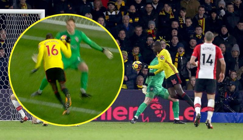 Southampton boss Mauricio Pellegrino says Watford equaliser was a clear handball