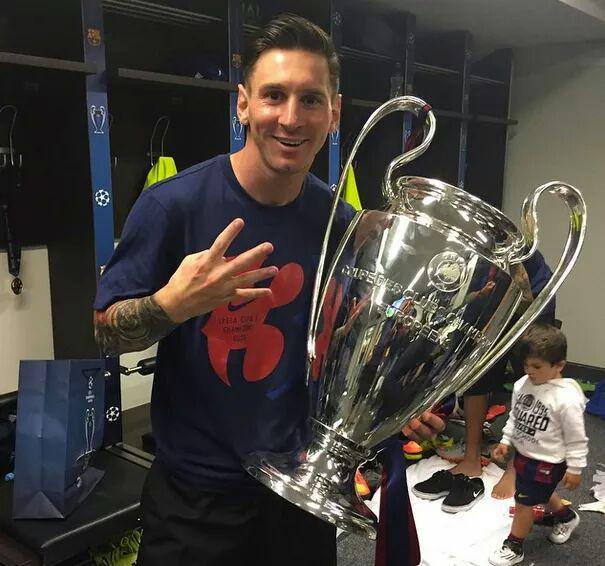 11 Lionel Messi Barcelona 4 2006 2009 2011 2015