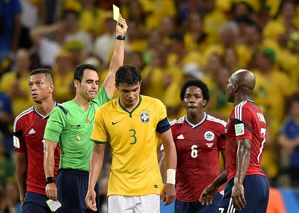 When are yellow cards wiped in the World Cup