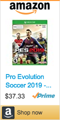 Best Soccer Gifts For Players - Pro Evolution Soccer 2019