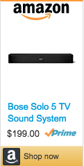 Best Gifts For Gamers - Bose TV Sound System Bar