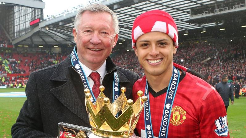 Chicharito EPL champion.