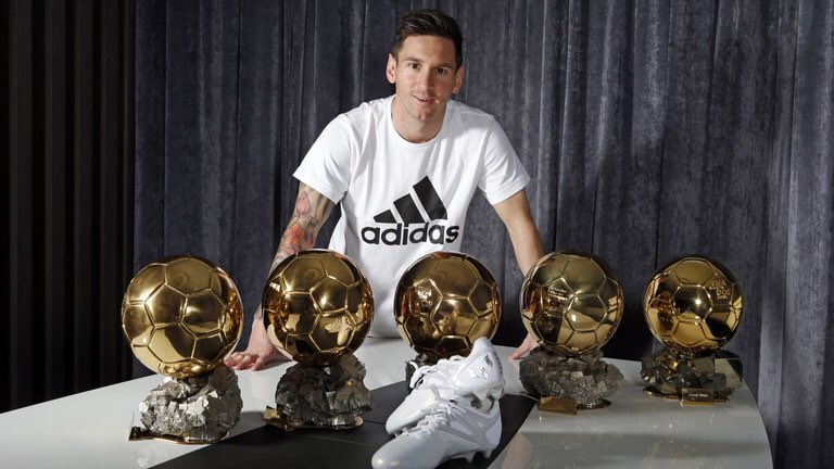 Messi Ballon d'Or.