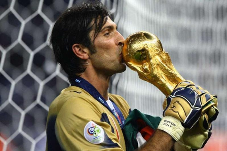 Gianluigi Buffon: Goalies are traditionally assigned soccer position number 1