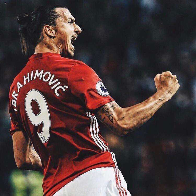 Zlatan Ibrahimovic: Center forwards traditionally wear soccer position number 9