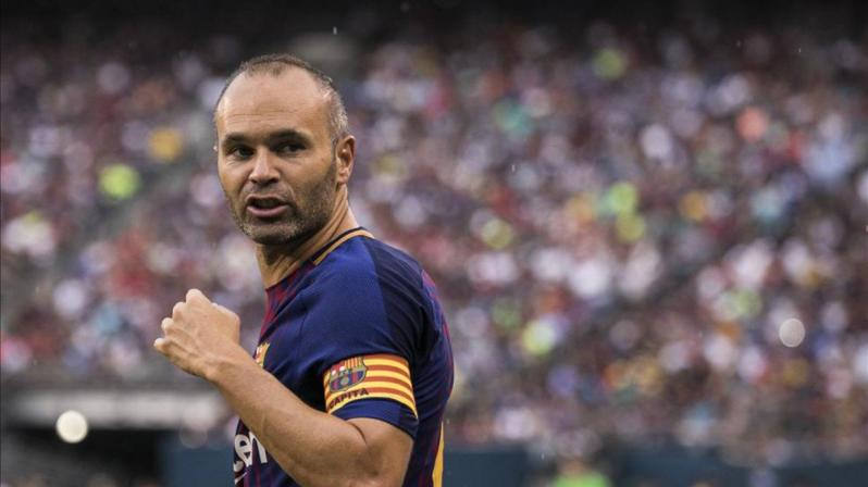 Andrés Iniesta: Center midfielders traditionally wear soccer position numbers 6 or 8