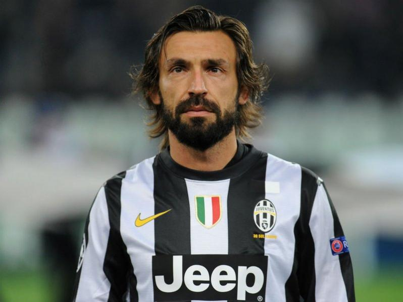 Andrea Pirlo: Defensive mids traditionally wear soccer position numbers 5 or 6