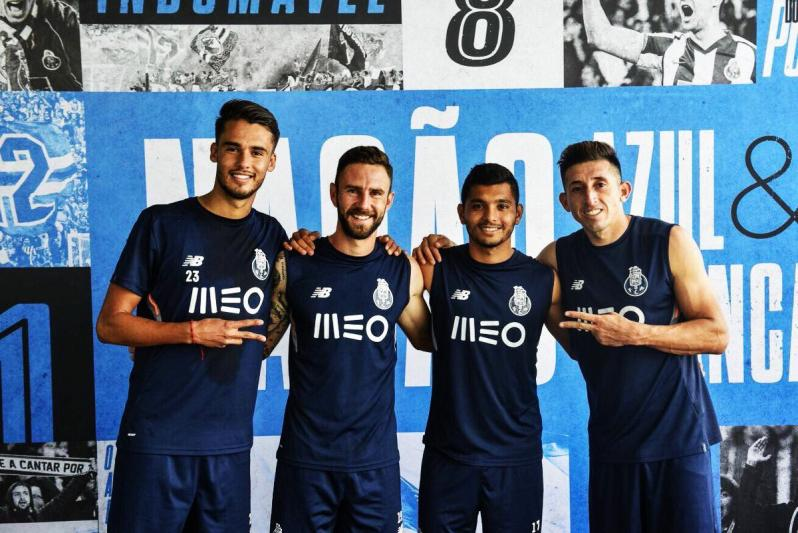 Mexicans at FC Porto