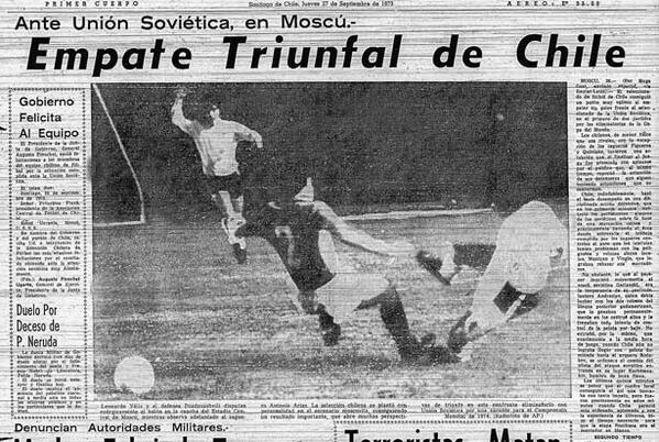 USSR vs Chile