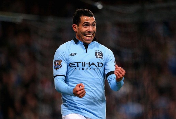Tevez at Manchester City