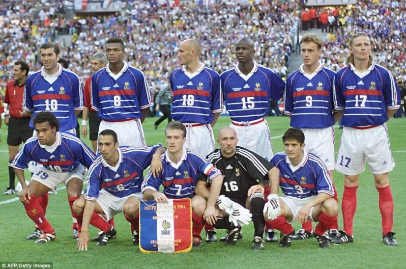 4c7b13fd9c4 Best World Cup Jerseys Of All Time - France 1998