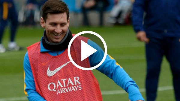 Learn The FC Barcelona Rondo Drill From Messi