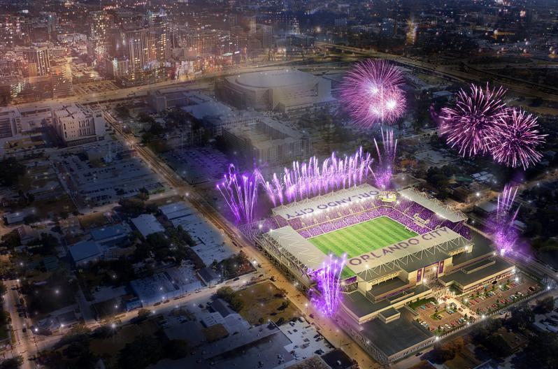 Orlando City Stadium Rendering by Populous
