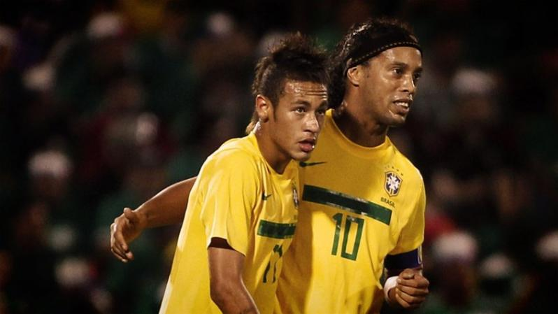 Neymar's transfer has brought on advice from former teammate Ronaldinho