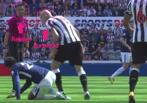 Ben Davies finishes off lovely Tottenham team move against Newcastle