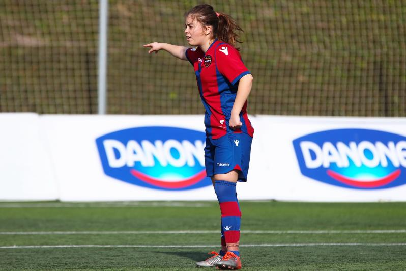 Alba Blasco of Levante UD in La Liga Genuine