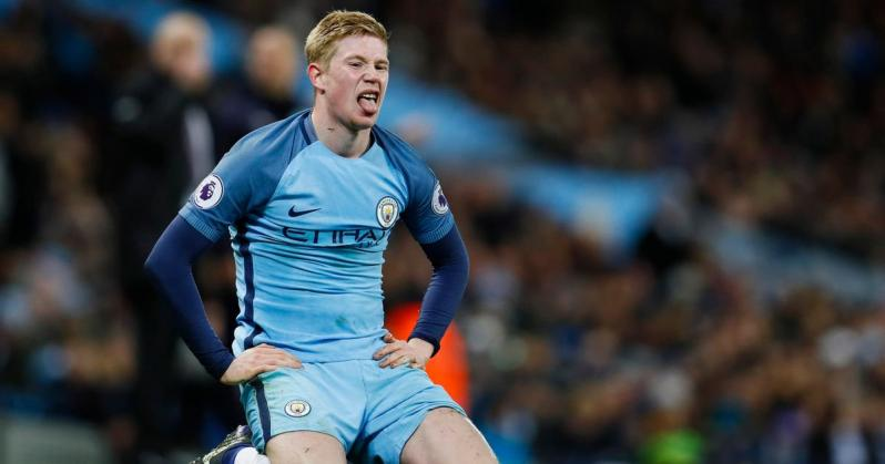 De Bruyne looks tired on the field after earning so many Manchester City records